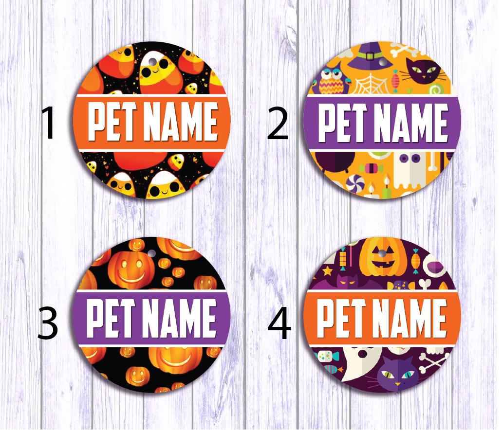 halloween festive (customized id tag) - hellofurry