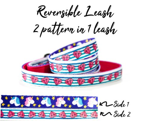 pinky diamond leash